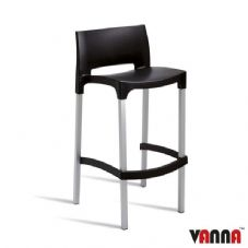Vanna Bud Bar Stool - Black